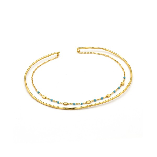 Pulsera Ania Haie Dotted Double B006-04G