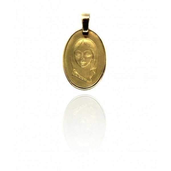 Medalla Oro 18k Virgen