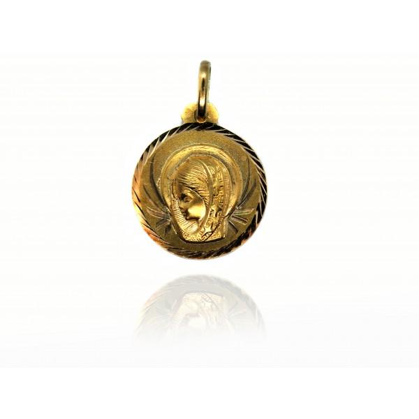 Medalla Oro 18k Virgen Niña 76032