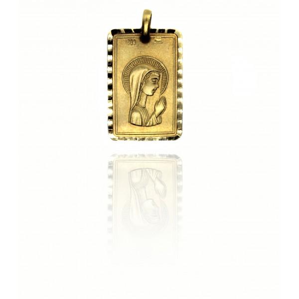 Medalla Oro 18k Virgen Niña 76050