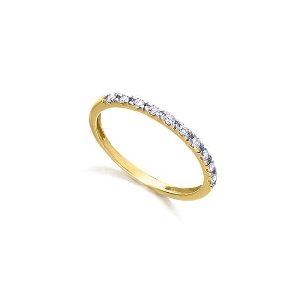 Anillo Oro 18k Lecarré Diamantes