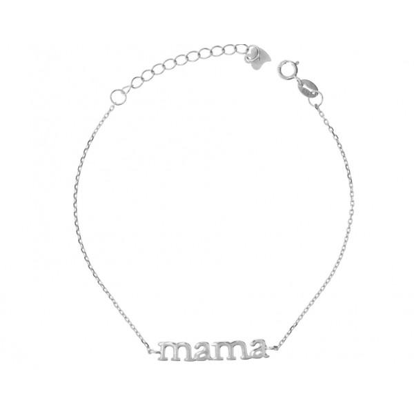 Pulsera Style Aristos Mamá Plata 24500868