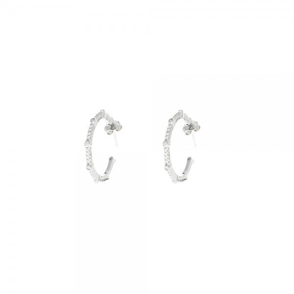 Pendientes Style Aristos Aro Circonitas 31000350