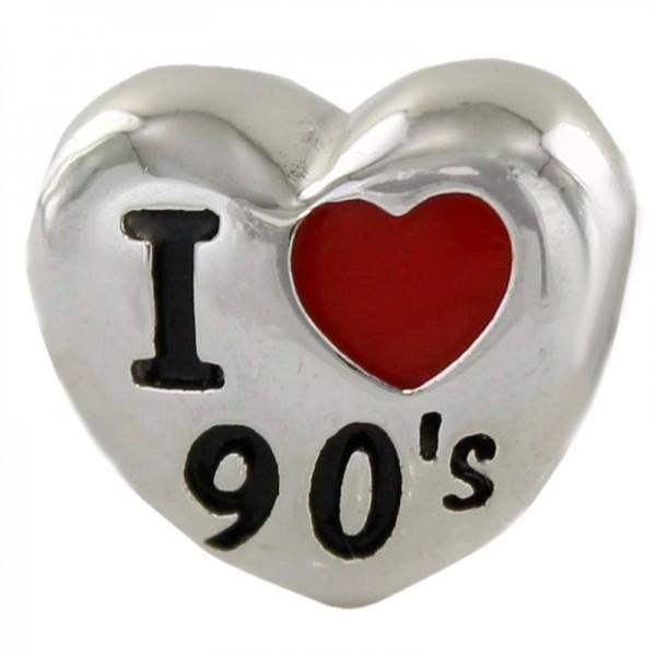 Abalorio PromoJoya Plata A Tu Lado I Love 90   9109332
