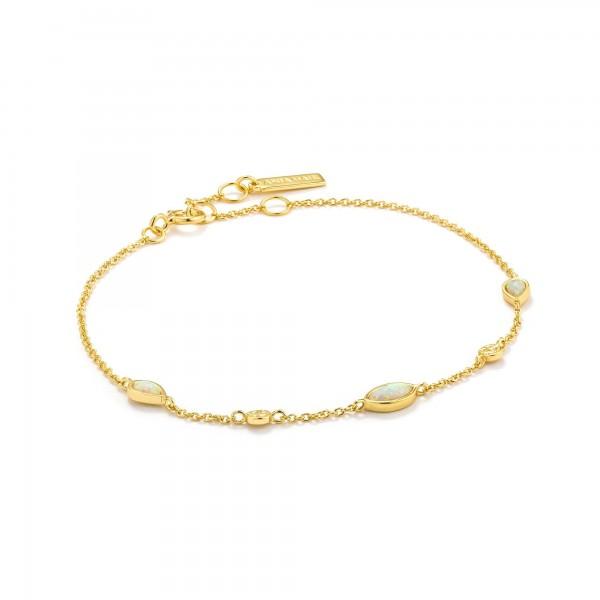 Pulsera Ania Haie Opal Colour Gold B014-02G