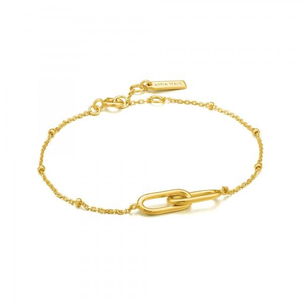 Pulsera Ania Haie Gold Beaded B021-01G