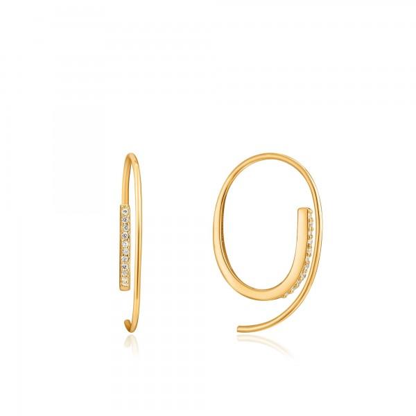 Pendientes Ania Haie Gold Twist E023-07G