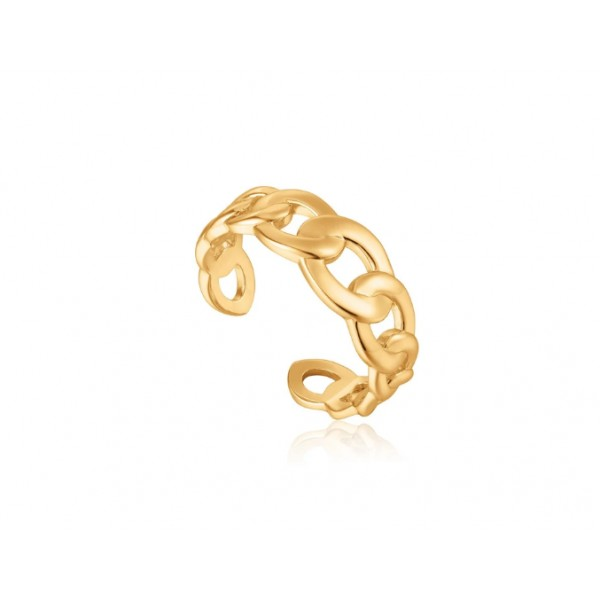 Anillo Ania Haie Gold Adjustable R021-01G