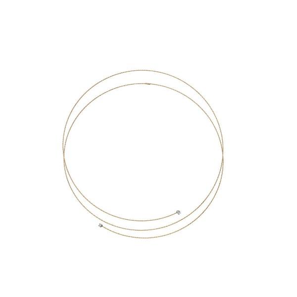 Collar Oro 18k MagicWire Silencio 17-C-GTI-01