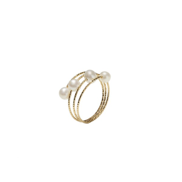 Anillo Oro 18k MagicWire Trilly 02-A-GPB-01