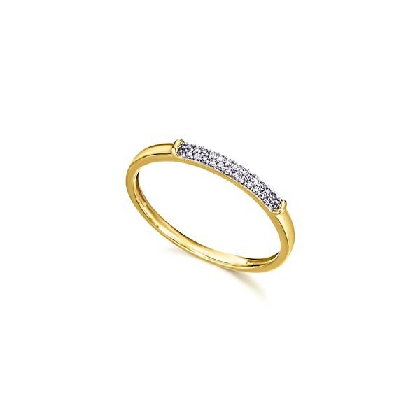 Anillo Oro 18k Lecarré Diamantes GA082OA.09