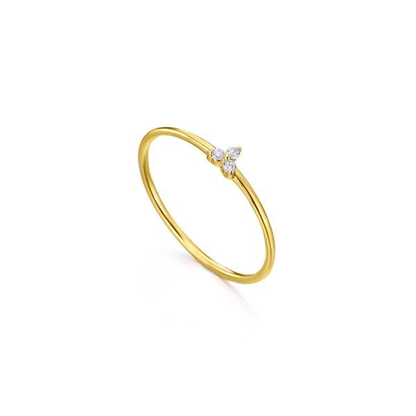 Anillo Oro 18k Lecarré Diamantes GA075OA