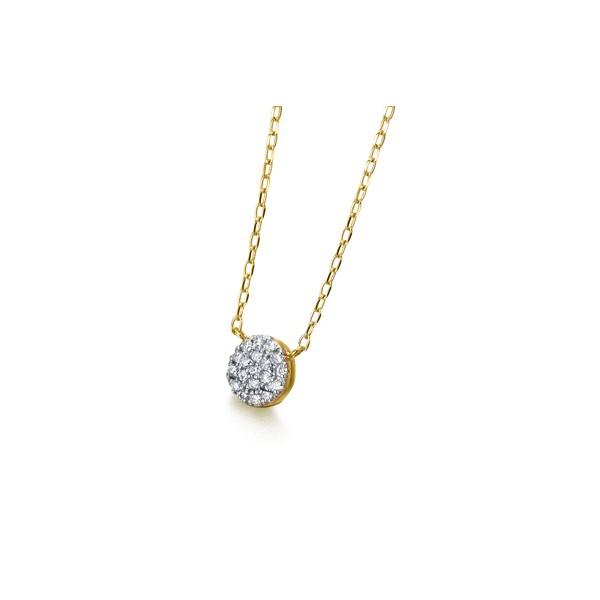 Gargantilla Oro 18K Diamantes Roseta GD073OA.00