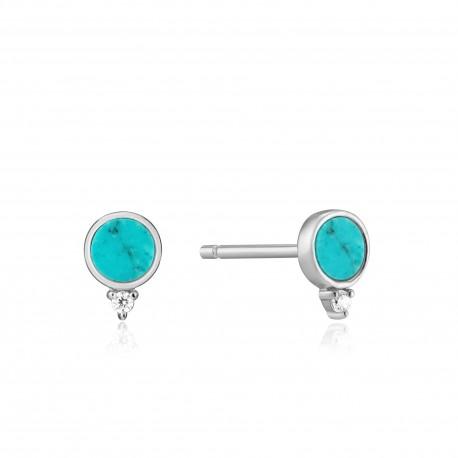 Pendientes Ania Haie Silver Turquoise E022-01H